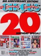 Circus Magazine October 31, 1989 Magazine