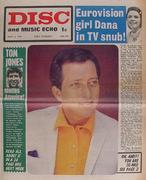 Disc and Music Echo Magazine April 4, 1970 Magazine