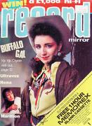 Record Mirror Magazine February 18, 1984 Magazine