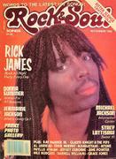 Rock & Soul Magazine November 1983 Magazine