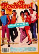 Rock & Soul Magazine April 1984 Magazine