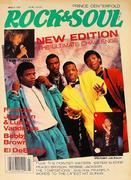 Rock & Soul Magazine March 1987 Magazine