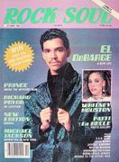 Rock & Soul Magazine October 1986 Magazine
