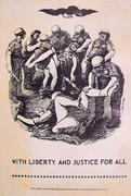 With Liberty And Justice For All Poster