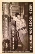 Milt Hinton Program