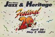 Jazz And Heritage Festival Program