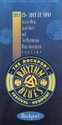 The Rockport Rhythm And Blues Festival Program