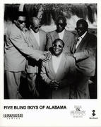 Five Blind Boys of Alabama Promo Print