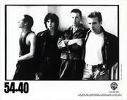 54-40 Promo Print