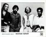 Weather Report Promo Print