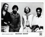 Weather Report Promo Print
