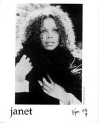 Janet Jackson Promo Print