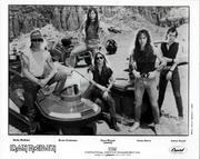 Iron Maiden Promo Print