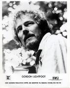 Gordon Lightfoot Promo Print