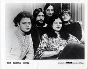 The Guess Who Promo Print