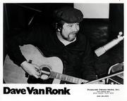 Dave Van Ronk Promo Print