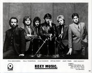 Roxy Music Promo Print