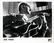 Joe Pass Promo Print