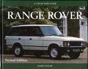 A Collector's Guide: Range Rover Book