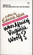 Who's Afraid Of Virginia Woolf? Book