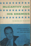 McCarthy And His Enemies: The Record and its Meaning Book