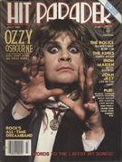 Hit Parader July 1983 Magazine