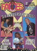 Rocks Faces Magazine October 1986 Magazine