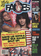 Rocks Faces Magazine October 1985 Magazine
