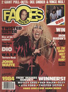 Rocks Faces Magazine February 1985 Magazine
