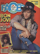Rocks Faces Magazine June 1987 Magazine