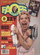 Rocks Faces Magazine May 1984 Magazine