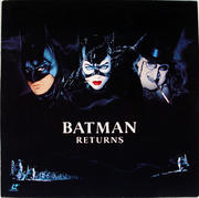 Batman Returns Laserdisc