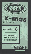 Twisted X-Mas Backstage Pass