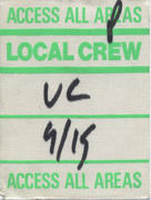 Local Crew Backstage Pass