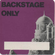 Backstage Only Backstage Pass