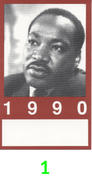 Martin Luther King Jr. Backstage Pass