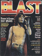 Blast: Celebrity Rock Magazine October 1976 Magazine