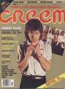 Creem Magazine October 1983 Magazine