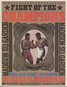 Joe Frazier VS. Muhammad Ali Program