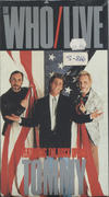 Live featuring the Rock Opera Tommy VHS