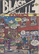 Black And White Comics Comic Book
