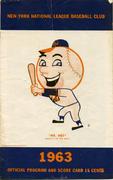 Mets vs. Giants Program