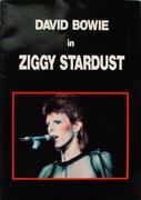 David Bowie In Ziggy Stardust Program