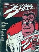 Scandal Sheet No. 1 Comic Book