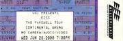 Kiss Vintage Ticket