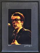 Elvis Costello Framed Vintage Print