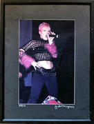 Pink Framed Vintage Print