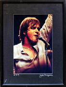 Eddie Money Framed Vintage Print
