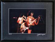 AC/DC Framed Vintage Print