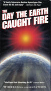The Day The Earth Caught Fire VHS